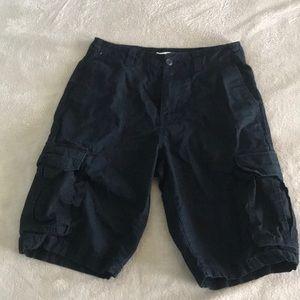 Goodfellow black cargo shorts